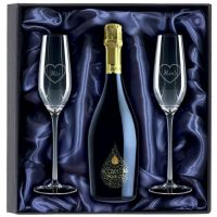750ml Prosecco & 2 Glasses Gift Set-KA035